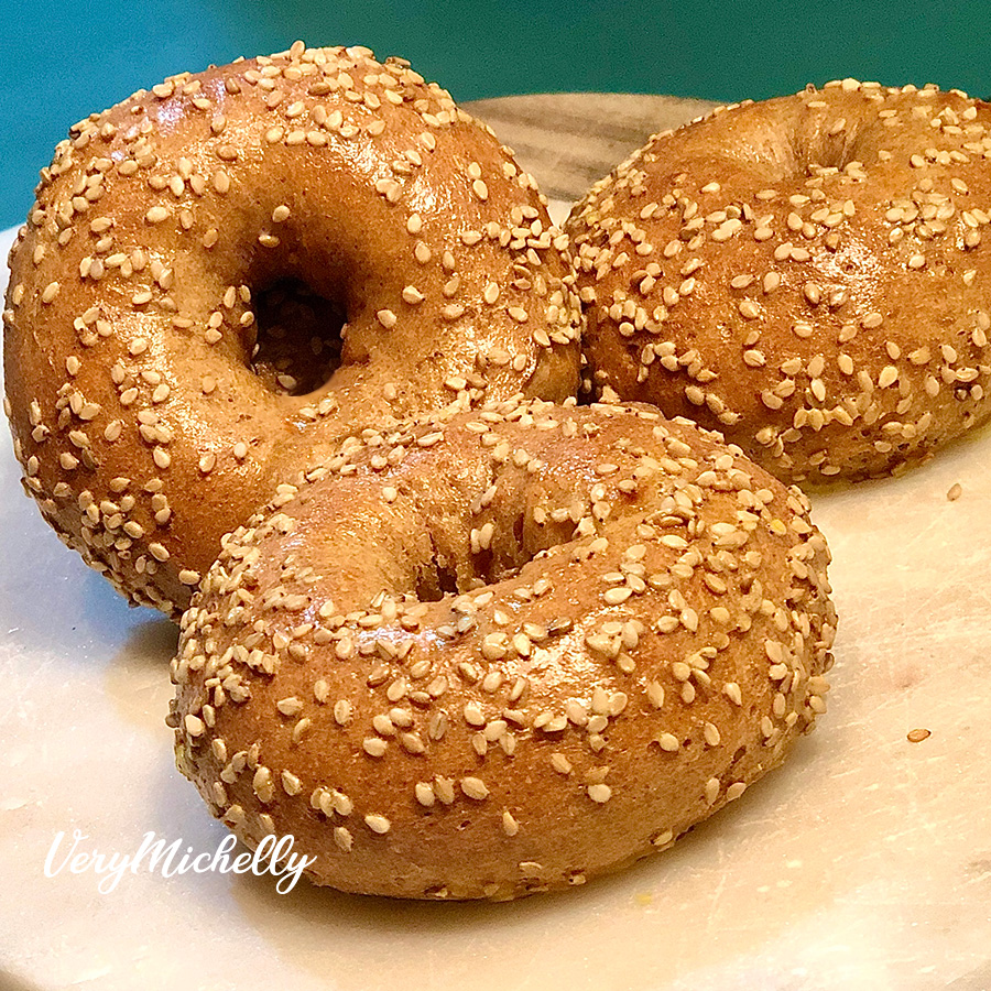 2 Ingredient Dough - Whole Wheat Bagels