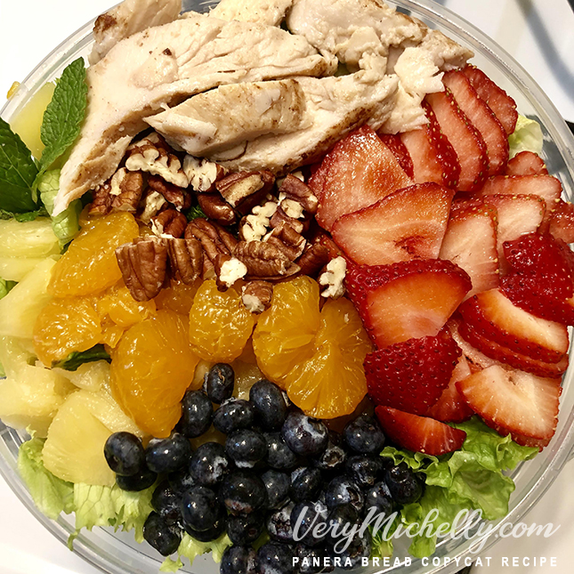 Imitation Panera Bread Strawberry Poppyseed Salad