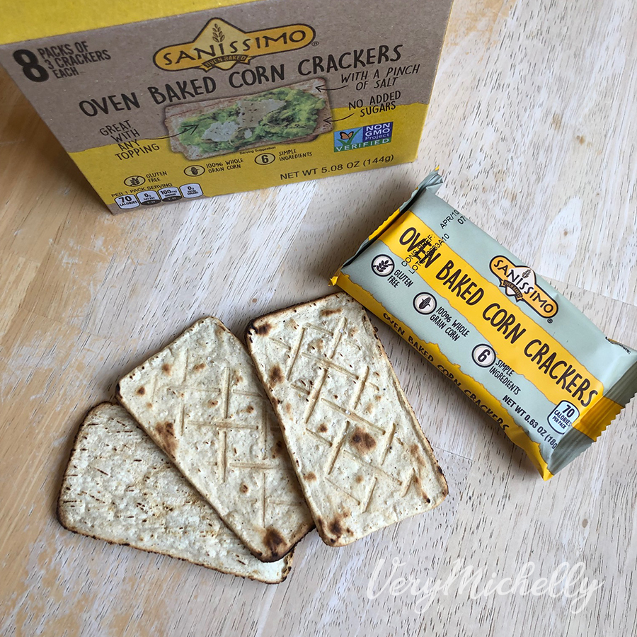 Baked Corn Crackers