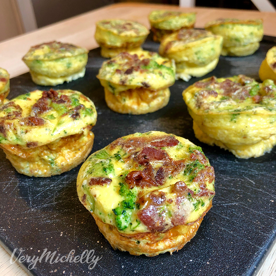 Mini Quiche - Breakfast Bakes