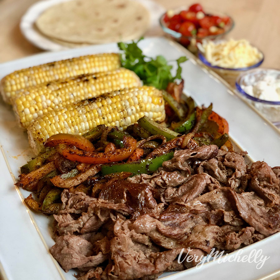 Shaved Steak Fajitas
